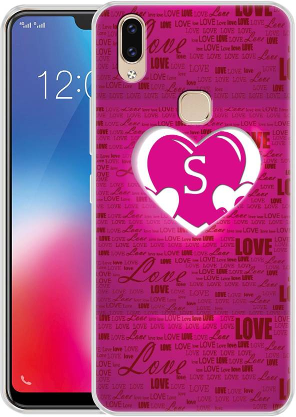 detailed look 08a33 9819a Fashionury Back Cover for Vivo V9