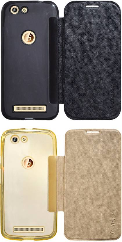 purchase cheap a70bc d3ab6 Coverage Flip Cover for Gionee F103 Pro - Coverage : Flipkart.com