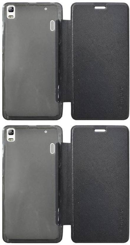 new product 4c6b3 6447f COVERBLACK Flip Cover for Lenovo K3 Note - - k50a40 - COVERBLACK ...