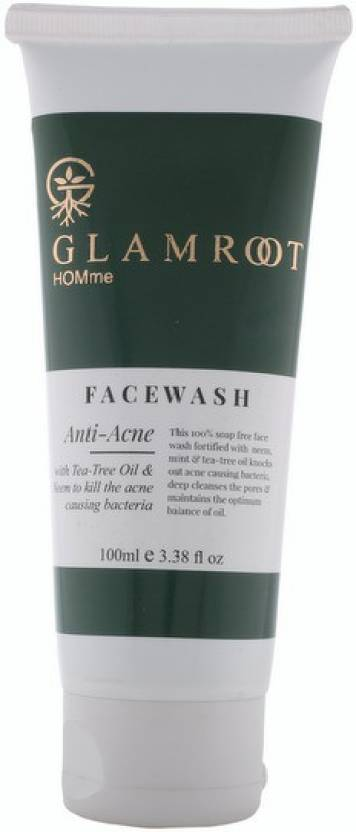 GlamRoot Anti Acne With Tea Tree Oil & Neem Face Wash