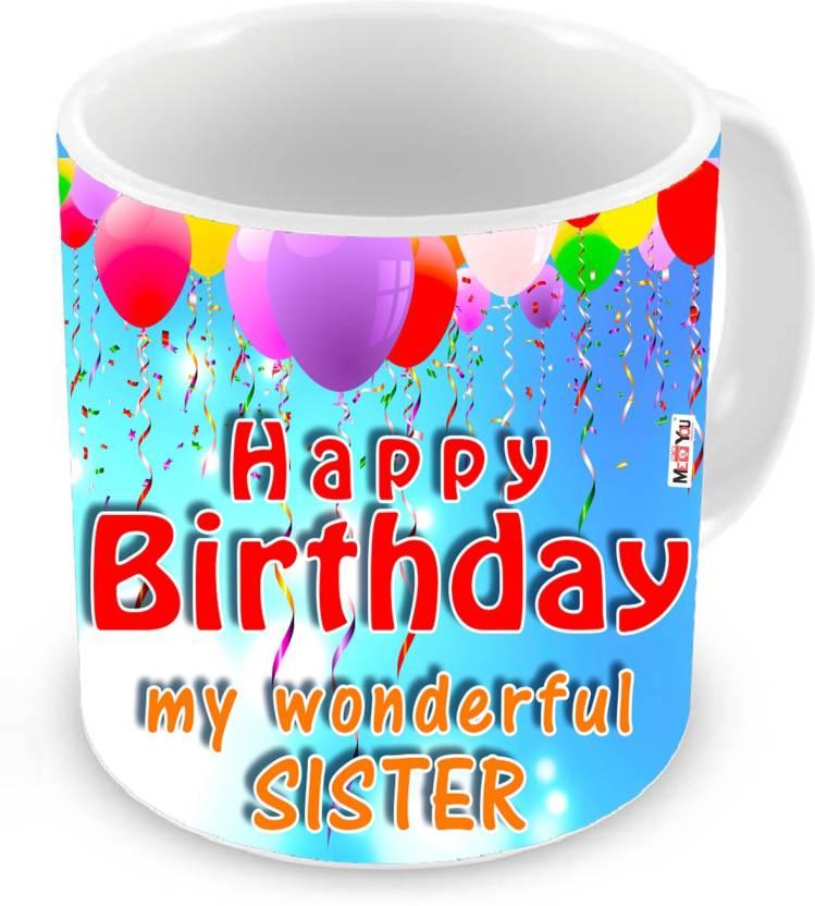 MEYOU Gifts For Sister Birthday Special Gift IZ18NJPMU 1934 Ceramic Mug 325 Ml