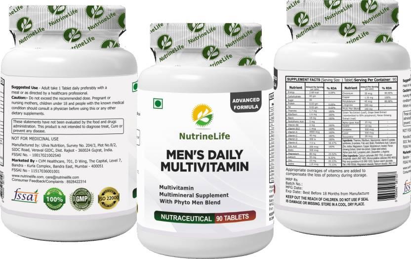 NutrineLife NutrineLife Multivitamin For Men Supplement Men