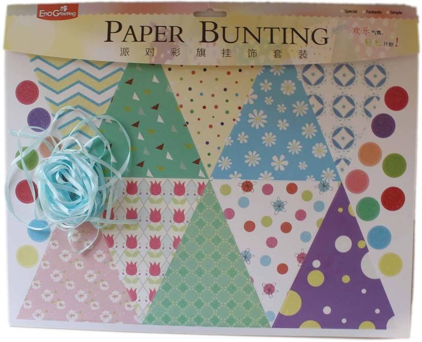 Tootpado Sweet Life Paper Bunting Set Epb1504 Diy Art And Craft