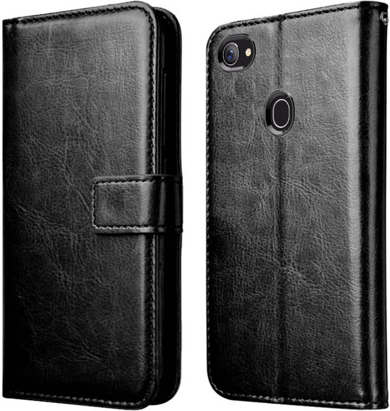 online store 91fa5 62cb3 XORB Flip Cover for Oppo F7 Flip Cover Leather Case Luxury Revel ...