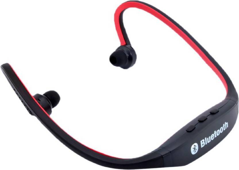 cf42c2ced53 SHOPLINE Bluetooth Sports Neckband Earphones for Android/iOS Devices (Color  May Vary) FVC568 Bluetooth Headset with Mic (Multicolor, In the Ear)