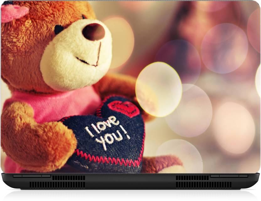 Gallery 83 Teddy I Love You Laptop Skin Sticker Wallpaper 15