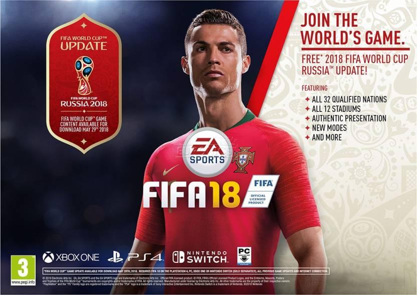 0d8dd034e FIFA 18 (FIFA WORLD CUP RUSSIA 2018) Price in India - Buy FIFA 18 ...