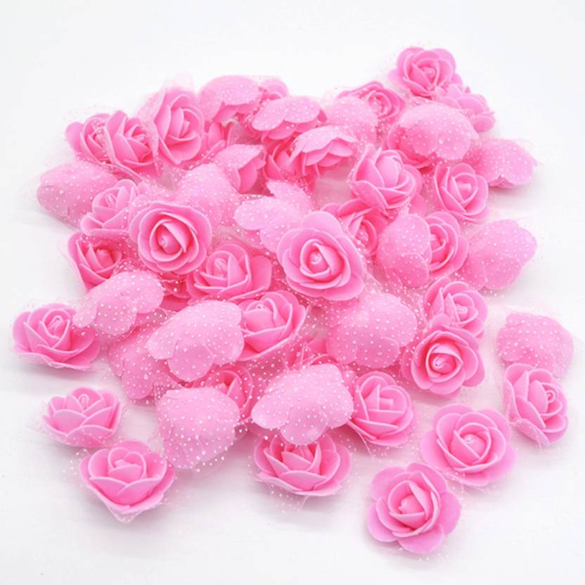 Idream Pink Rose Artificial Flower Price In India Buy Idream Pink