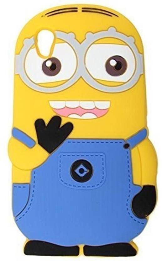 buy online b5f92 b11ab Dream2Cool Back Cover for Funky 3D Cartoon Minion Soft Rubber ...