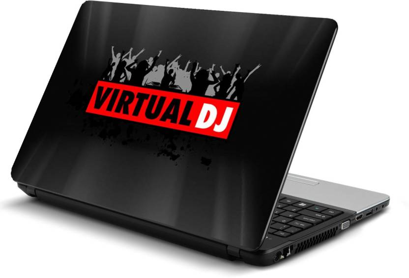 PRINTCLUB Virtual DJ Laptop Sticker 15 6 inch-Laptop Skin-2018-57