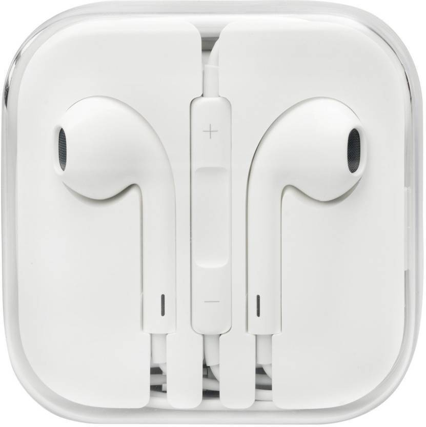 408ec4439c1 AFRODIVE Original Genuine Wired Headset with Mic (White, In the Ear)