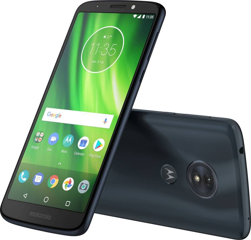 Moto G6 Play Indigo Black
