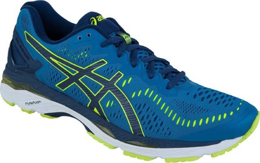 the latest 83ed5 e4870 Asics GEL - KAYANO 23 (2E) - THRBL/STYYW/INBL Running Shoes For Men