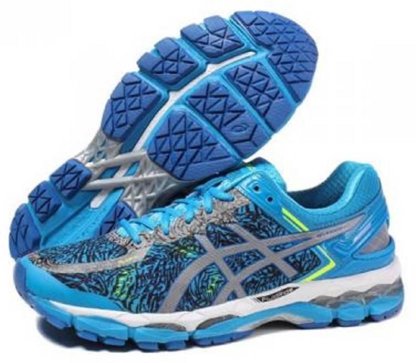 d8917367f2eb Asics GEL - KAYANO 22 LITE SHOW - HYL BLUE SLV BLK Running Shoes For ...