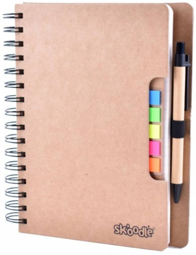 Flipkart com | SKOODLE Notebook, Sticky Note, Kraft - Combo