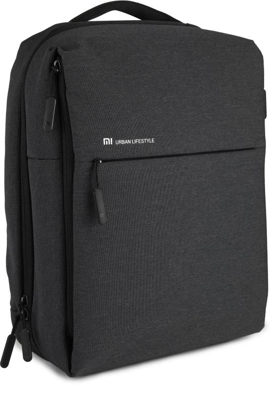 Mi City 16 L Laptop Backpack Dark Grey Price In India Flipkart Com