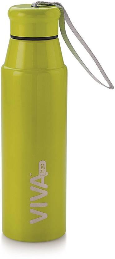 Image result for VIVA h2o VH5010 680 ml Bottle  (Pack of 1, Green)