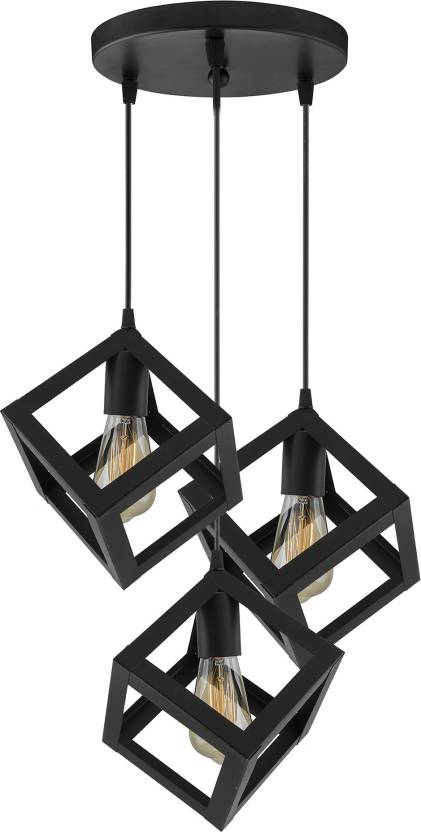 new products 1c2af a640a Homesake 3-Lights Round Cluster Chandelier Hanging Cube 6
