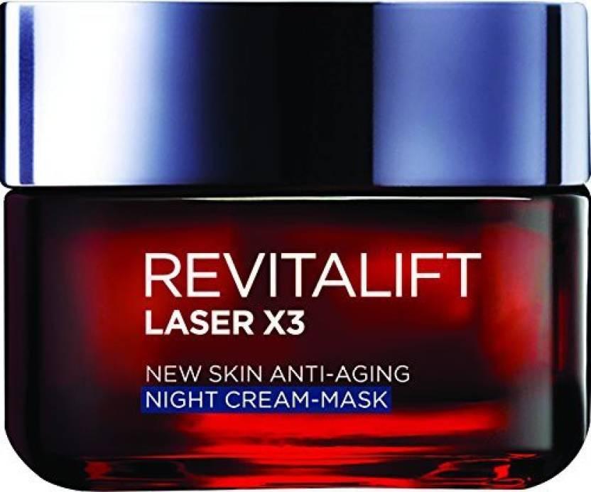 LOreal Paris Revitalift Laser AntiAgeing Night Cream (50 ml)