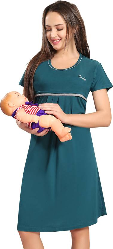 7d66ec48898 AV2 Women Maternity Nursing Nighty - Buy AV2 Women Maternity Nursing ...