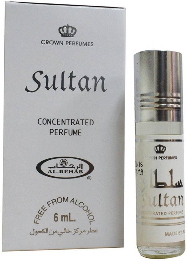 Al Rehab Perfumes Sultan Concentrated Rollon Perfume - 6 ml (For Men)