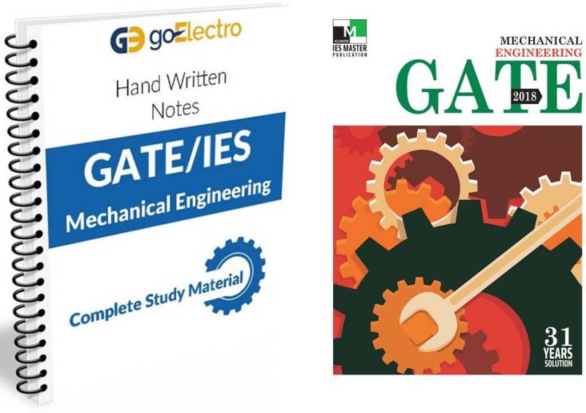 Made Easy IES/GATE Hand Written Notes Mechanical Engineering