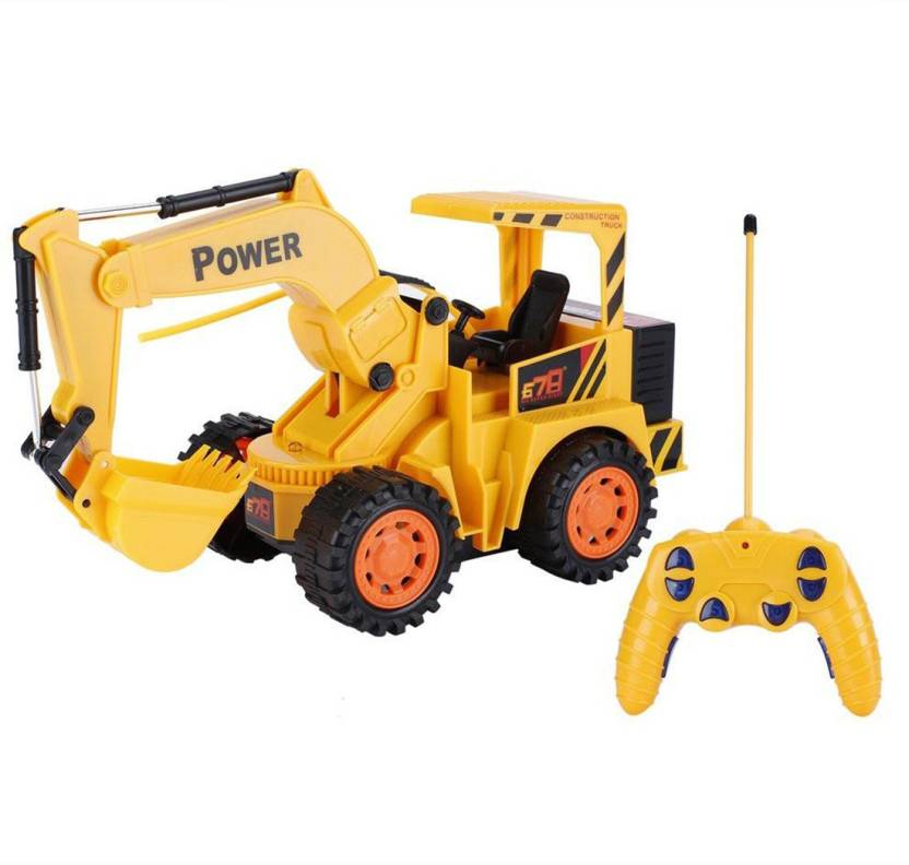 Flame 5 Channels Jcb Remote Control Excavator Simulation Electric