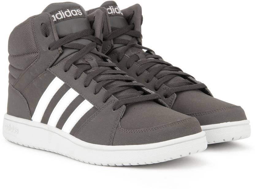 Adidas Neo Vs Basket Metà Metà Caviglia Scarpe Per Gli Uomini Comprano Dbrown