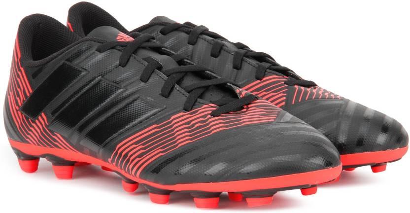 fdc38de23df9 ADIDAS NEMEZIZ 17.4 FXG Football Shoes For Men - Buy CBLACK/CBLACK ...