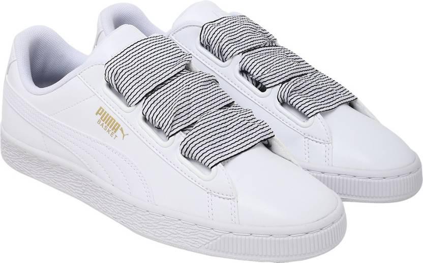 buy online 9a99a cbf3a Puma Basket Heart Wn s Sneakers For Women - Buy Puma Basket ...