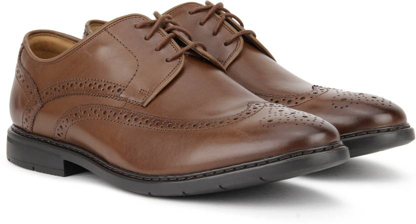 f45e3b7c7d22 Clarks Banbury Limit Brogues For Men - Buy British Tan Lea Color ...