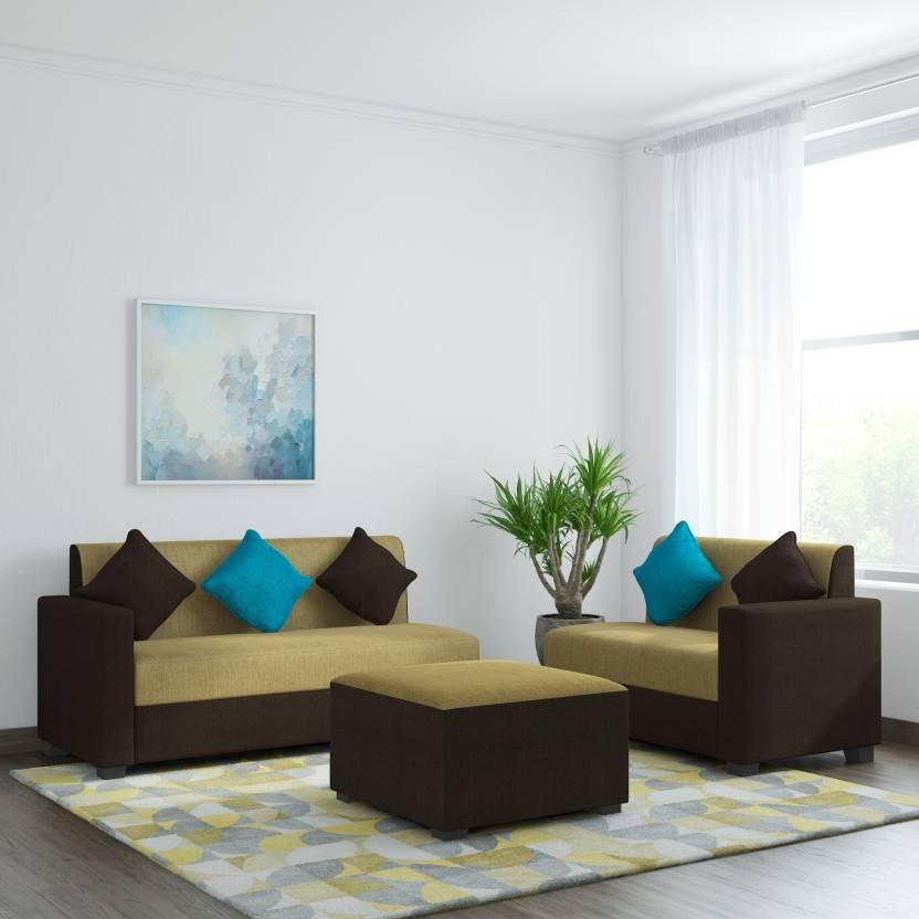 Muebles Casa Sweden Fabric 6 Seater Sofa