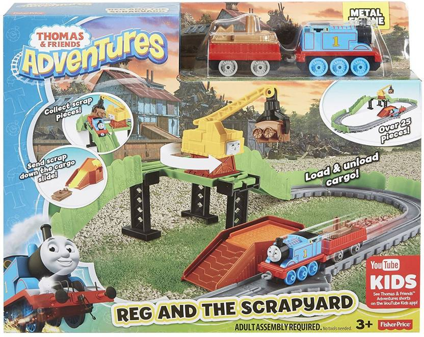 Thomas & Friends Adventures Reg and the Scrapyard (Multicolor)