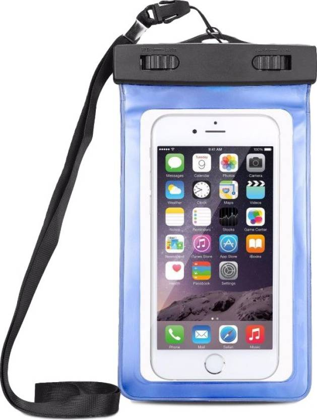 uk availability 80e07 c13ba Techvik Pouch for Travel Swimming Waterproof Mobile Phone Bags Dry Pouch  Cases Cover For All Smart Mobile Phones
