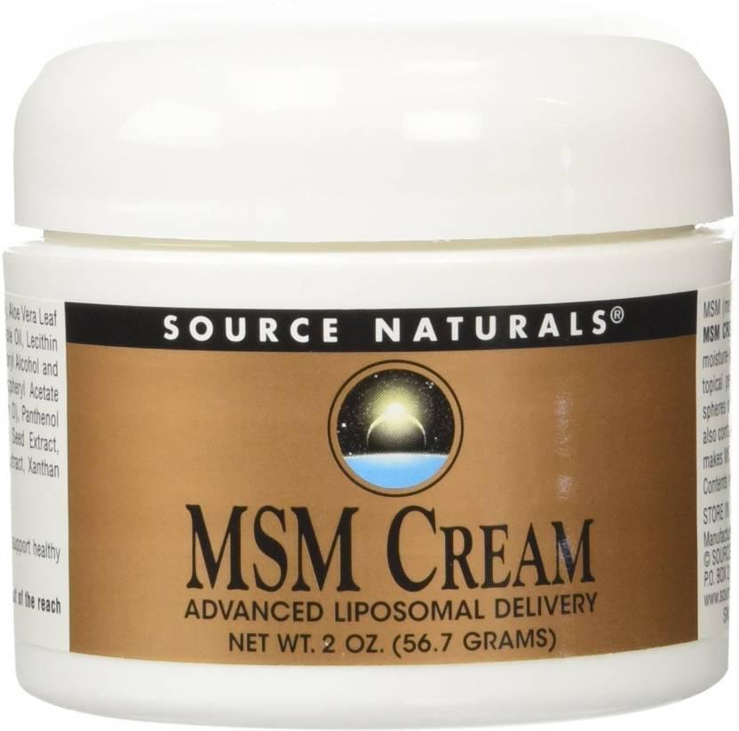 Source Naturals Msm Cream, Advanced Liposomal Delivery
