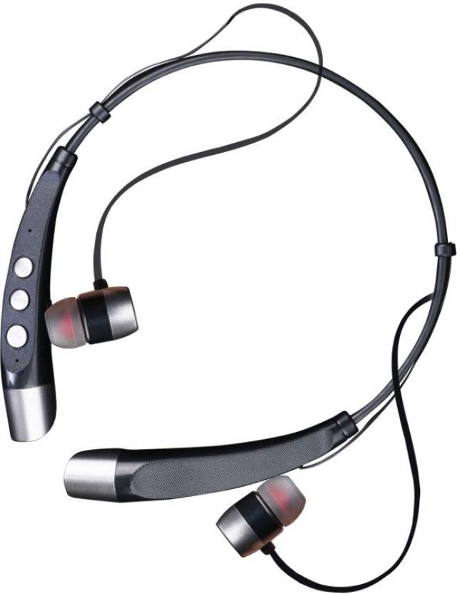 4dfba42a007 Zebronics ZEB-FREEDOM Bluetooth Headset with Mic (Grey, In the Ear)