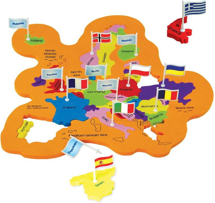 Imagimake Imagimake: Mapology World- World Map and its Countries- Learning  Aid & Educational Toy- Jigsaw Puzzle- for kids Age 4 and above