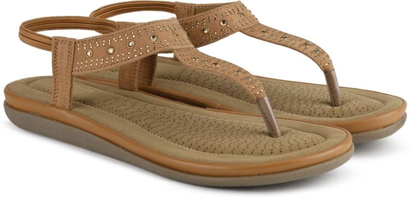 1d7dfe60532c Bata Women Tan Flats - Buy Tan Color Bata Women Tan Flats Online at Best  Price - Shop Online for Footwears in India   Flipkart.com