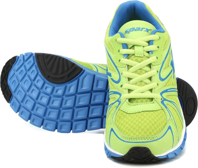 Sparx SM-206 Running Shoes For Men(Green)