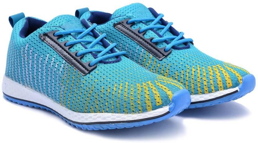 52043df28cb1 De Loyon SKYBlue Running Shoes Outdoors For Men - Buy SKYBlue Color ...
