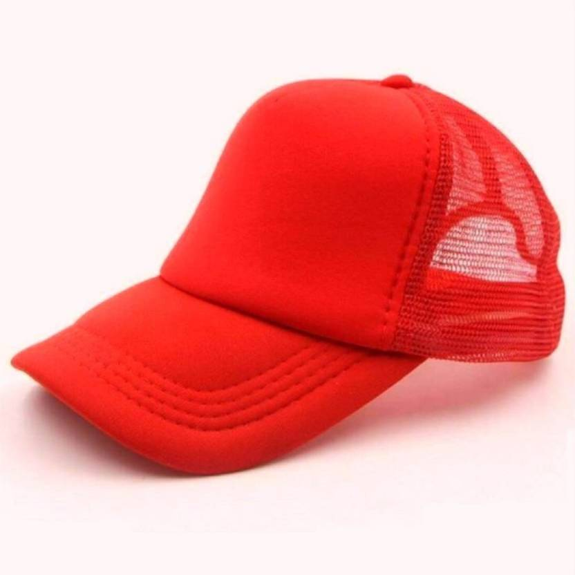 b676cee6 Saifpro Looks Red Netted Mesh baseball Cap Cap - Buy Saifpro Looks Red  Netted Mesh baseball Cap Cap Online at Best Prices in India | Flipkart.com