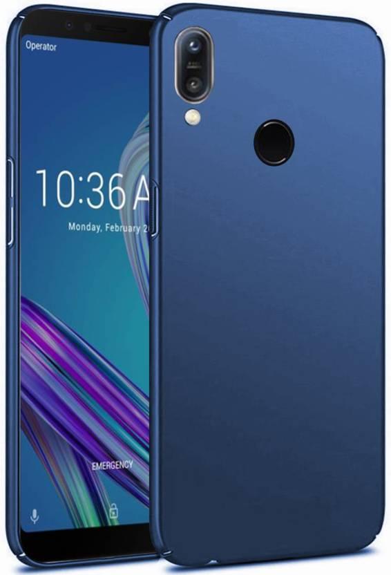 GKJ Buy Back Cover For Asus Zenfone Max Pro M1 Blue Plastic