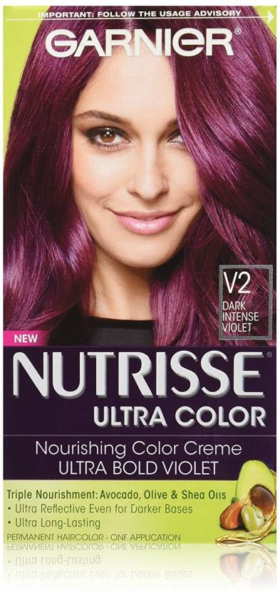 Garnier Nutrisse Ultra Color Nourishing Hair Color Creme V2 Dark