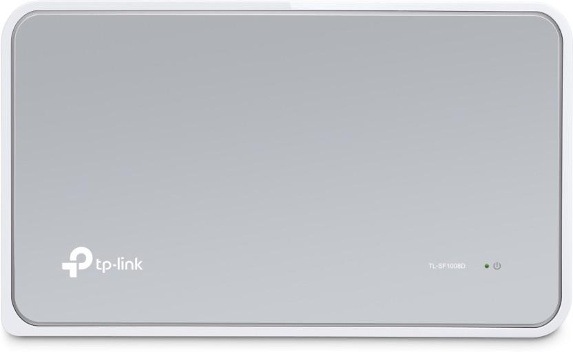 TP-LINK TL-SF1008D 8-Port 10/100Mbps Desktop Switch - TP-Link