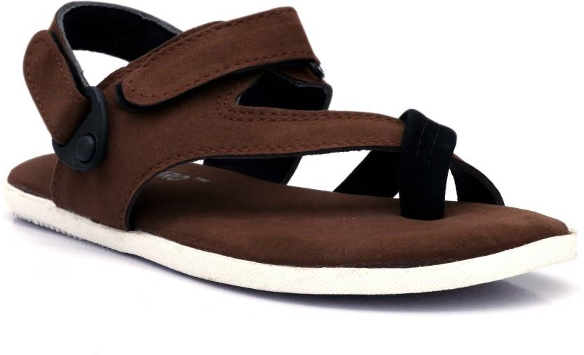 c4fe61104735 Shoegaro Men Brown Sandals - Buy Shoegaro Men Brown Sandals Online at Best  Price - Shop Online for Footwears in India