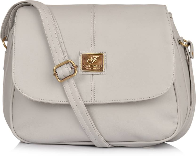 521352eda69 Fostelo Women Grey PU Sling Bag Grey - Price in India | Flipkart.com