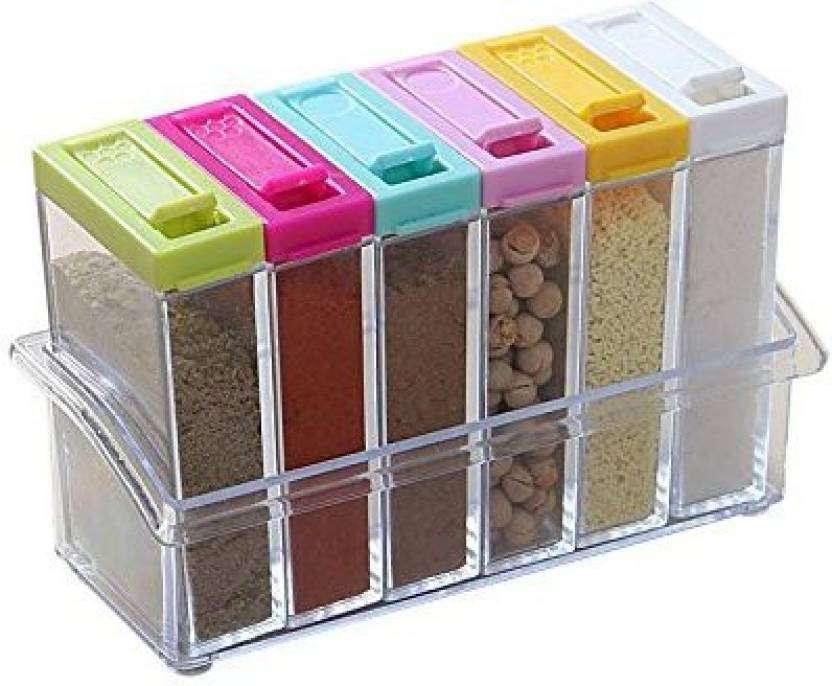 34fb90bc6d1 kitchen khajana Seasoning Box 6 Piece Spice Set Price in India - Buy ...