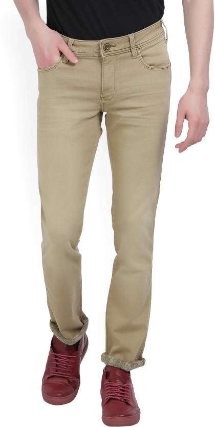 6ccbf8ab Wrangler Slim Men's Beige Jeans - Buy JSW-KHAKI Wrangler Slim Men's Beige  Jeans Online at Best Prices in India | Flipkart.com