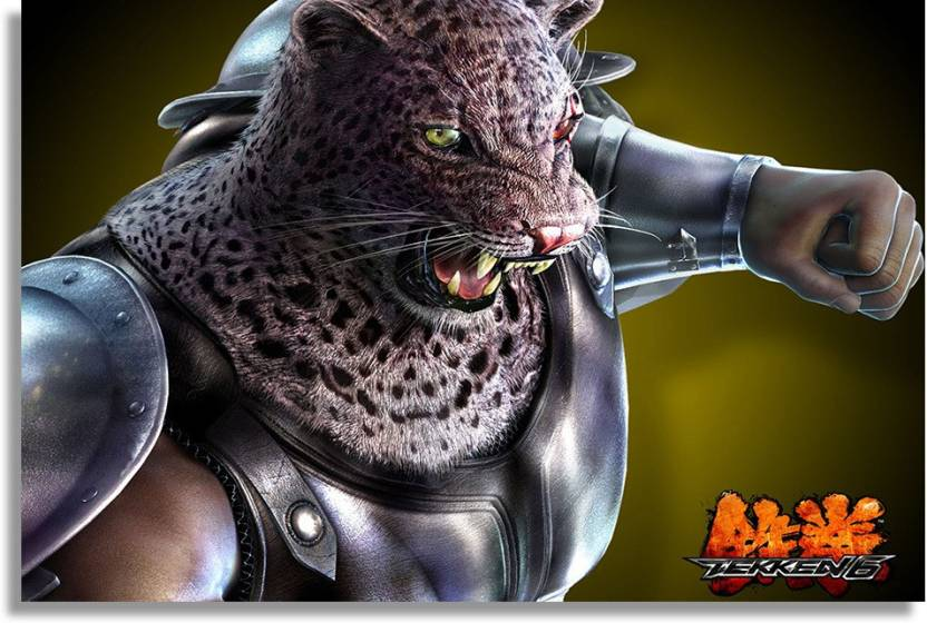 armor king tekken 6 Paper Print - Gaming posters in India
