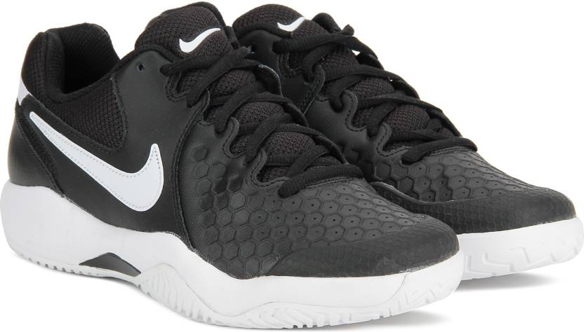 5d956af56496 Nike AIR ZOOM RESISTANCE Tennis Shoes For Men - Buy BLACK WHITE ...